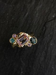 Made in 14 karat with a mixtures of stones including: Sapphires, Tourmaline & Morganite. . #bywilliamscott #wscottfine #uniquejewelry #finejewelry #Goldsmith #gold #morganite #sapphire #tourmaline #engagment #jewelry #rings #ringlight #ringsofinstagram #gold #14karat #diamonds #luxury #flow #jewelry #fashion #handmade #jewellery #earrings #accessories #necklace #handmadejewelry #jewelrydesigner Jewellery Earrings, Jewelry Rings, Fine Jewelry, Unique Jewelry, Handmade Jewellery, Solid Gold, Flow, Sapphire, Diamonds