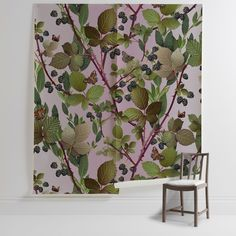 'Blackberry' Mural - Michael Angove, from £210 at surfaceview.co.uk