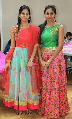 New Designer Dresses, Designer Anarkali Dresses, Indian Designer Outfits, Kurti Neck Designs, Dress Neck Designs, Saree Blouse Designs, Churidar Designs, Long Gown Dress, Saree Dress