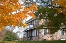 In 1794, Melchior Schultz, a minister of the Schwenkfelder faith, purchased the Peter Wentz farmstead and his descendants continued to live and farm here until 1969 when it was purchased by Montgomery County.  The site has been restored and the house furnished to reflect its appearance at the time of the American Revolution.
