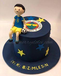 Takımlara özel pastalar... 🤗 #merrydolci . . #butikpasta #fenerbahçe #sarıkanarya #pastaatölyesi #futbol #pasta #sugarart… Drip Cakes, Sugar Art, Fondant, Birthday Cake, Baby Shower, Desserts, Pictures, Animals, Birthday Cakes