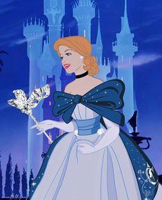 Masquerade Cinderella Disney Fan Art, Disney Nerd, Disney Love, Disney Magic, Anna Disney, Disney E Dreamworks, Disney Pixar, Disney Characters, Disney Princess Cinderella