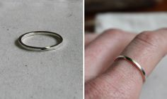 Win a Silver Twisted Mobius Ring from Bare Branch! A $28 value. For more ways to win, follow us and repin.