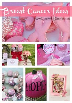 Fight Like a Girl: 10 Breast Cancer Awareness Crafts & Ideas