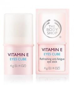 The Body Shop Vitamin E Eyes cube Skin Care Cream, Skin Cream, Body Shop Vitamin E, Eye Cream Reviews, Cosmetic Design, The Body Shop, Eye Creams, Body Creams, Skin Treatments
