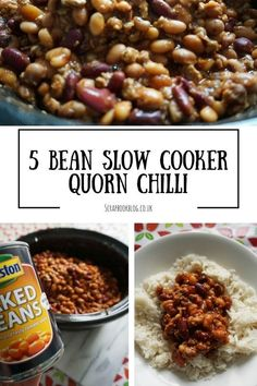 Recipe: Five Bean Slow Cooker Chilli | SCRAPBOOK BLOG