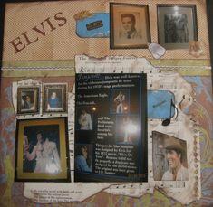 Vacation 2010---Elvis Museum Pg 2 - Scrapbook.com