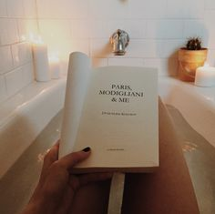 A good read and a soak.