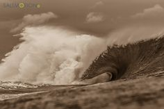 One beautiful beast of a wave. Photo by Joel Coleman