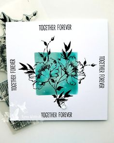 Together Forever, Stamp, Ink, Creative, Cards, India Ink, Maps, Stamps