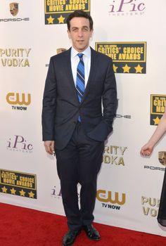 B.J. Novack attends the19th Annual Critics' Choice Movie Awards at Barker Hangar on January 16, 2014 in Santa Monica, California.