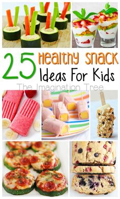 Here is a collection of 25 healthy snacks for kids that are all so delicious! We all know that aa treat is fun every now and then, but not something we want to give our children on a daily basis. The good news with these healthy snacks for kids is that they're so tasty, they...Read More »