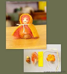 Cute and easy gnome craft to do with children