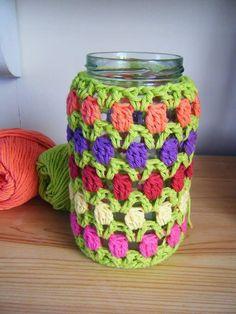 Hoje tem Flor !!!: Cachepô em Crochê com Passo a Passo ( Retirado da Net )