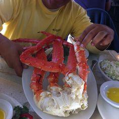Captain Patty's Fish House, Homer, Alaska - Best crabs I ever gotten!!! Lol!! Over a pound each leg.