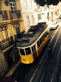 Lisbon, tram 28