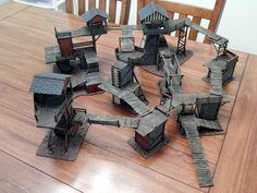 Mordheim shanty town