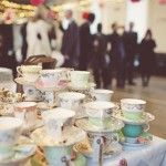 From rock and roll bride  - vintage tea cups