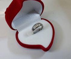 168 mm Ring Silber 925 Sterne Kristalle rar SR613 von Schmuckbaron