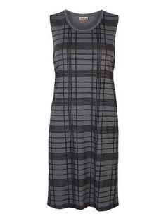 Checked midi dress. Wear this with a cool leather jacket! #noisymay #fashion #dress #style