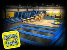indoor trampoline park!