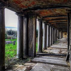 To the North of the cemetery is the 'North Terrace Colonnade'.  Underneath this colonnade lay catacombs.  These subterranean passageways have space for at least 4000 corpses.  From this spot facing South out towards the graves it is still possible to enjoy views of the Surrey Hills in the distance some 30 miles away!  Notable burials within include Merchant WH Smith himself (1865)  William Whiteley- founder of London's first department store in Bayswater.(1907)  German born engineer Carl…