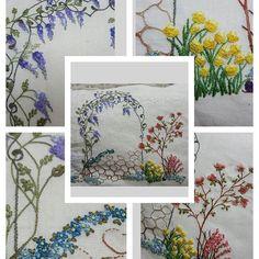 Mais completo... #dmc #embroidery #pillowembroidery #broderiefrance #bordado…