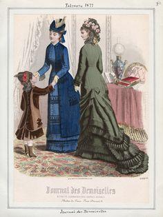 Journal des Demoiselles February 1877 LAPL