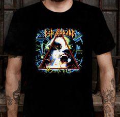 New DEF LEPPARD Hysteria Rock Band T-shirt Tee Size L (S to 3XL av) #Unbrandedgeneral #BasicTee