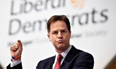 Nick Clegg delivers his keynote speech to the Liberal Democrat conference in Glasgow