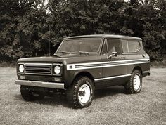International Scout II truck by Wisconsin Historical Images, via Flickr