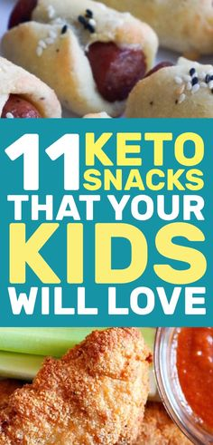 It's important that your kids eat healthy and these keto snacks are perfect for getting them on the right track.