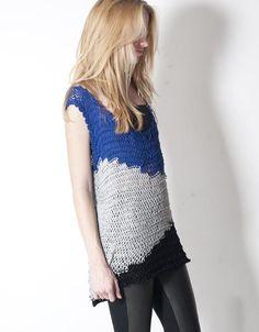 knit tunic vest   DIY inspo