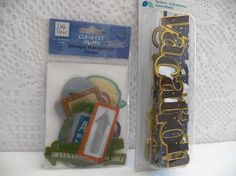 Travel and Vacation Embellishments set of 41 by CraftClearingHouse, $6.25