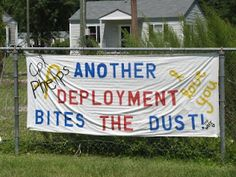 Deployment, I have made MANY of these when Clint was coming home and for the kids games