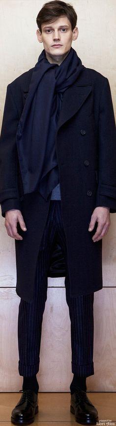 Officine Generale Fall 2015 RTW Menswear