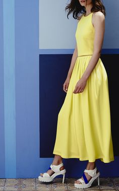 Preen by Thornton Bregazzi Resort 2015 Trunkshow Look 15 on Moda Operandi