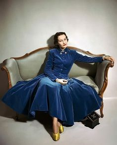 Frances Mclaughlin Gill, 1947 Especially with the yellow satin shoes.