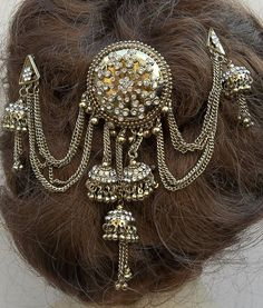 Vintage hair comb Indian Bollywood hair by ElrondsEmporium on Etsy, $33.00