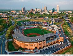 BB Ballpark. Home of the Winston-Salem Dash baseball team, Chicago White Sox affiliate