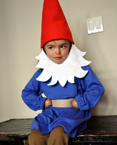 CUSTOM Travelocity Garden Gnome Halloween Costume by tickletrunk, $65.00