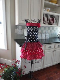 I love to wear a cute apron when I'm cooking =D these are very nice & well priced. 4RetroSisters Sophia Style Ruffled Womens Apron  by 4RetroSisters, $41.50