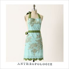 Aprons on pinterest cute aprons vintage apron and apron for Anthropologie cuisine couture apron