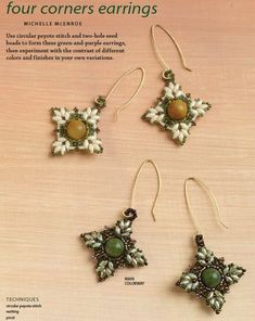 Free Patterns Using SuperDuos | Shaped Bead Craze--Inspiring Projects and Great Resources: