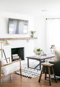Eden Passante's Living Room Remodel: Before And After   theglitterguide.com