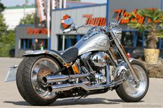 This #Harley-Davidson Fat Boy is looking for a new home.