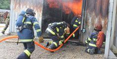 Velký požár v Tachově. V chatce uhořelo několik lidí