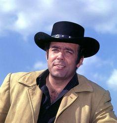 "Pernell Roberts as Adam Cartwright in ""Bonanza"" (1962)"