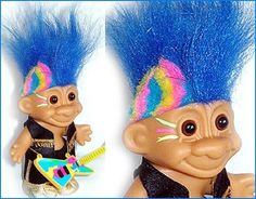 Omg who remembers the TROLLs. I used to have a collection of them...haha. Where can I find one