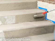How to restore concrete patio, front porch, decks .... in easy steps ! Looks like new.